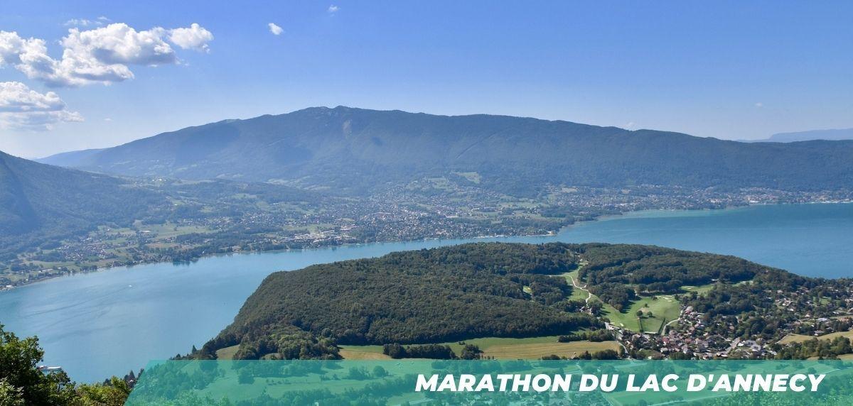 TOP 7 des meilleurs marathons en France - Marathon du Lac d'Annecy