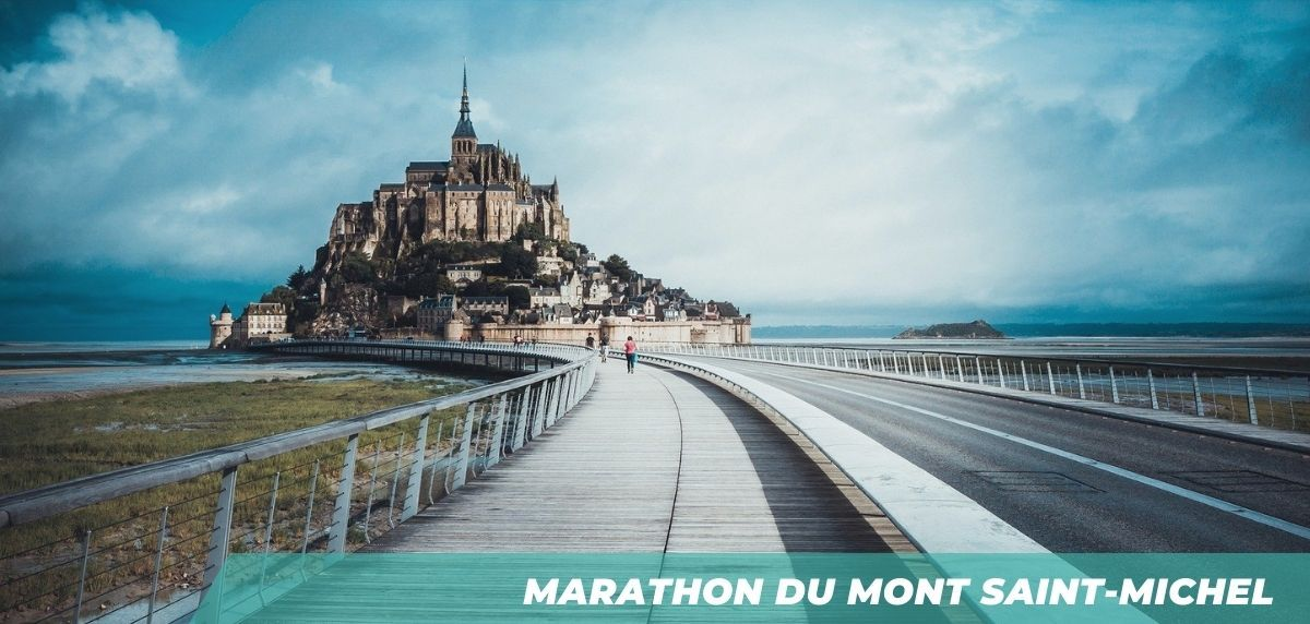 TOP 7 des meilleurs marathons en France - Marathon du Mont Saint-Michel