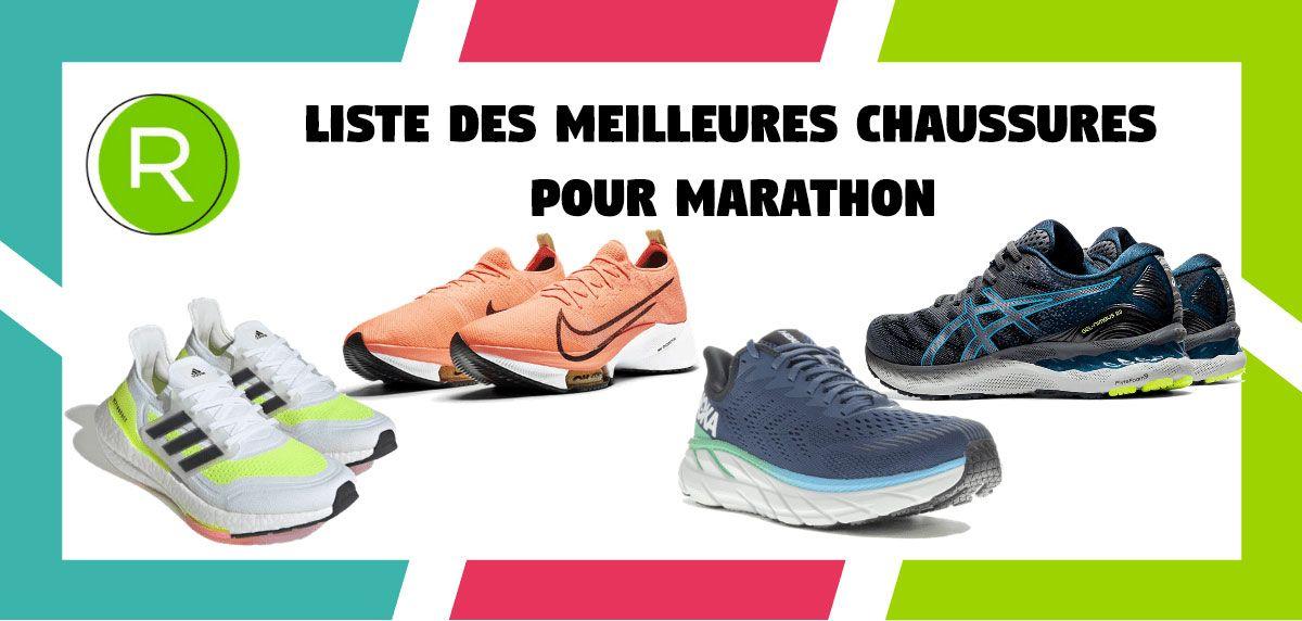 Liste des 16 meilleures chaussures pour marathon