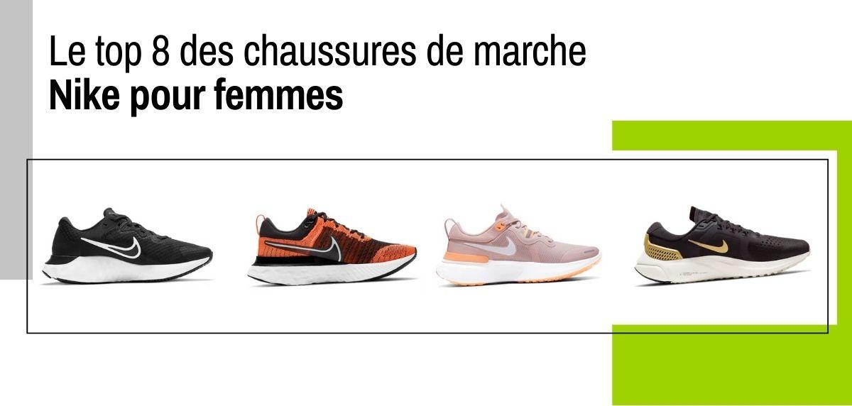 Meilleures chaussures de marche Nike pour femmes