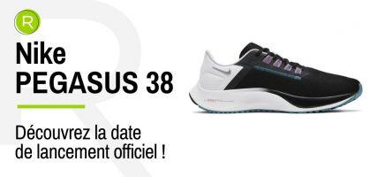 Nike Pegasus 38, la date de lancement vient d'être confirmée !