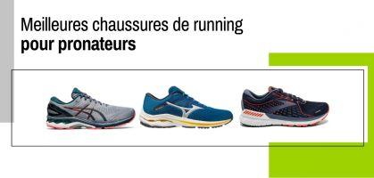 Meilleures chaussures de running pour pronateurs
