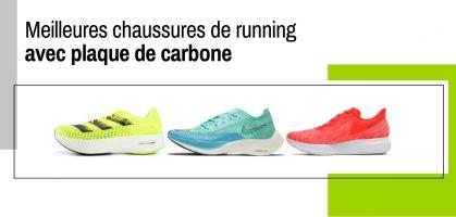 Les meilleures chaussures de running avec plaque de carbone