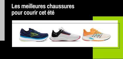 Les 8 meilleures chaussures de running pour courir en été