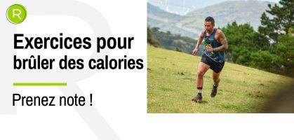 Brûler 200 calories en moins de 3 minutes - c'est possible avec ces exercices !