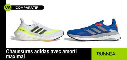 Si vous cherchez une chaussure avec un amorti maximal, choisissez l'une de ces deux adidas