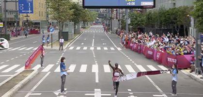 Maratón Tokio 2021: Las zapatillas de los medallistas