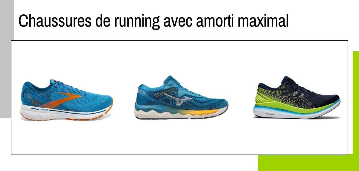 Meilleures chaussures de running avec amorti maximal de 2021