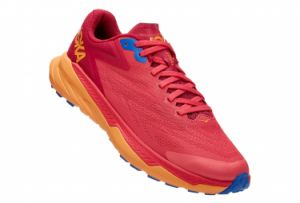Chaussures de Trail Femme Hoka One One Zinal Rose / Orange